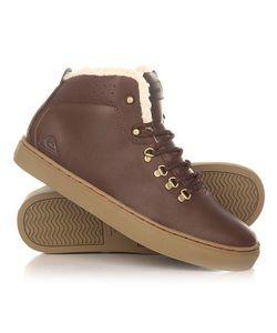 Quiksilver | Кеды Кроссовки Зимние Jax Deluxe Shoe Brown