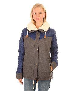 Roxy | Куртка Зимняя Женская Loran Jk Charcoal Heather