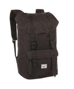 Herschel Supply Co. | Рюкзак Туристический Herschel Little America Black Synthetic Leather