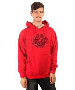 Fallen | Толстовка Кенгуру Brand Seal Pullover Hood Red/Black