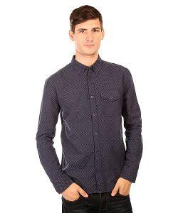 Dcshoes | Рубашка Dc Allandalen Black Iris Dot