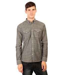 Dcshoes | Рубашка Dc Arrowood Black Chambray