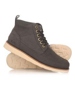 Quiksilver | Ботинки Высокие Sheffield Black/Brown