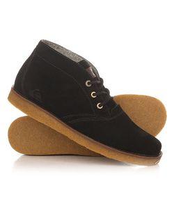Quiksilver | Ботинки Высокие Harpoon M Boot Black/Brown