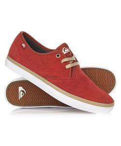 Quiksilver | Кеды Кроссовки Низкие Shorebreak Sued Shoe Xrrw Red/Red/White