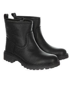 Wrangler | Ботинки Зимние Женские Creek Booty Leather Fur Black