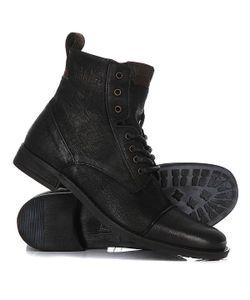 Levi's® | Ботинки Высокие Levis Maine Lace Up Regular Black