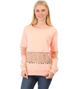 Emblem | Толстовка Классическая Женская Cut Sweatshirt Peach