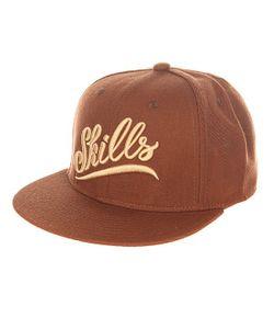 Skills | Бейсболка С Прямым Козырьком 02 Brown