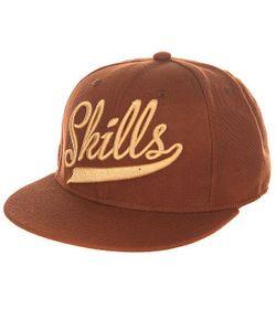 Skills | Бейсболка С Прямым Козырьком 01 Brown