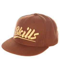 Skills | Бейсболка С Прямым Козырьком 03 Brown