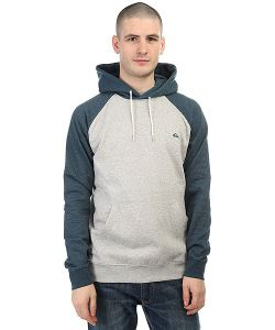 Quiksilver | Толстовка Кенгуру Everyday Hood Indian Teal Heather