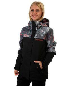 Roxy | Куртка Парка Женская Lucie Charcoal Heather
