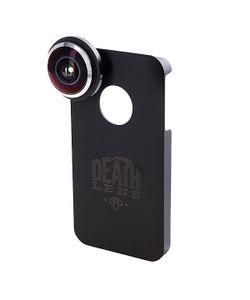 Death Lens | Чехол Для Iphone Fisheye Lens Dk. Blue Box 4/4s