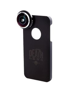 Death Lens | Чехол Для Iphone Fisheye Lens Red Box 5/5s
