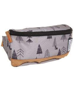 The Pack Society | Сумка Поясная Bum Bag Grey Tree Allover
