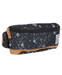 The Pack Society | Сумка Поясная Bum Bag Black Spatters Allover