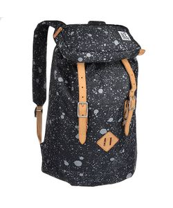 The Pack Society | Рюкзак Туристический Premium Backpack Black Spatters Allover