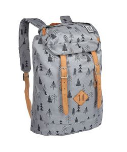 The Pack Society | Рюкзак Туристический Premium Backpack Grey Tree Allover