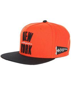 K1X   Бейсболка С Прямым Козырьком Ny Franchise Snapback Cap