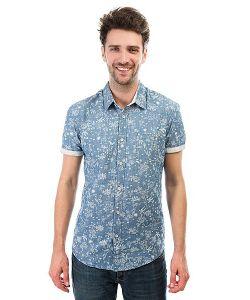 Quiksilver | Рубашка Bloomfielddiver Indigo Pyramid