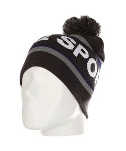 Le Coq Sportif | Шапка Pompon Beanie Dark Heather