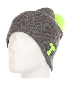Truespin | Шапка Abc Pompom Beanie Lime-T