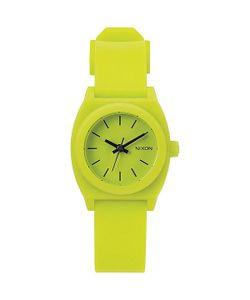Nixon | Кварцевые Часы Small Time Teller Lime