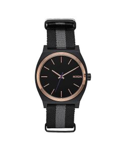 Nixon | Кварцевые Часы Time Teller Charcoal