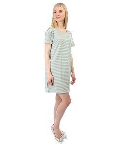 Obey | Платье Right Above Dress Sea Fog Stripe