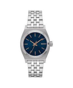 Nixon | Кварцевые Часы Medium Time Teller Navy/