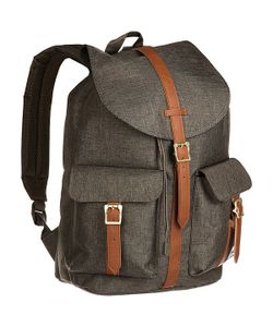 Herschel Supply Co. | Рюкзак Туристический Dawson Canteen Crosshatch/Tan Synthetic Leather