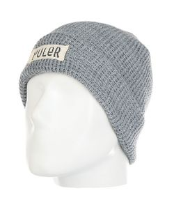 Poler | Шапка Workerman Beanie Light Heather