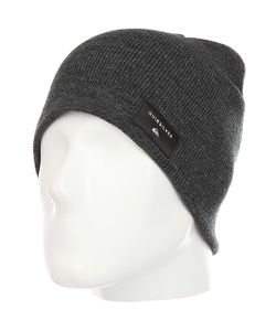 Quiksilver | Шапка Cushy Hats Dark Charcoal Heather