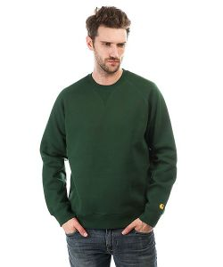 Carhartt | Толстовка Свитшот Chase Sweatshirt Fir/
