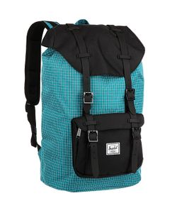 Herschel Supply Co. | Рюкзак Little America Mid-Volume Ocean Depths Grid/