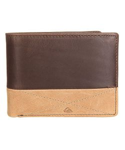 Quiksilver | Кошелек New Classical I Choc/Cognac Leather