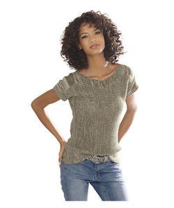 Linea Tesini | Пуловер С Короткими Рукавами