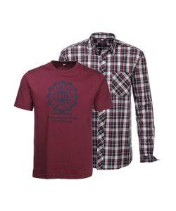 GREY CONNECTION | Комплект: Рубашка + Футболка