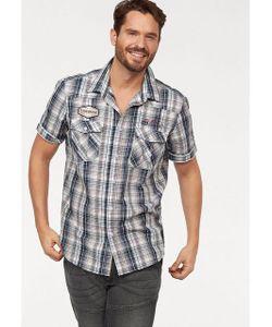 MAN'S WORLD | Рубашка С Короткими Рукавами