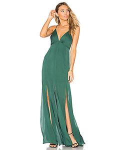 Haute Hippie | Low Back Fitted Cami Gown