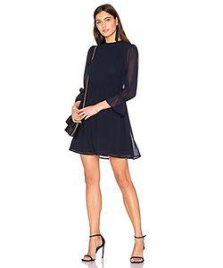 Line & Dot | Обегающее Сверху И Плиссированное От Пояса Платье Renee Line