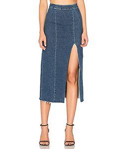 GRLFRND   X Revolve Amber Long Skirt