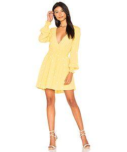For Love & Lemons | Платье С Длинным Рукавом Chiquita