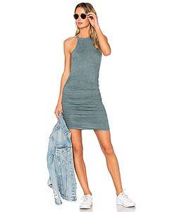 Lanston | Ruched Halter Dress