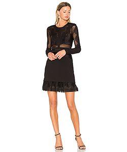 THREE FLOOR   Приталенное Расклёшенное Платье Bonjour