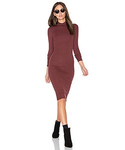 ATM Anthony Thomas Melillo | Long Sleeve Mock Neck Dress
