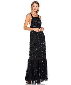 Needle & Thread | Вечернее Платье С Украшенным Передником