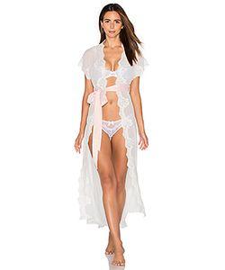 homebodii | Farrah Long Lace Robe