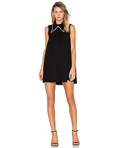 Mcq Alexander Mcqueen | Collar Trapeze Dress